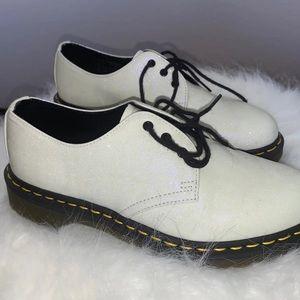 White Sparkly 14961 Dr Martens